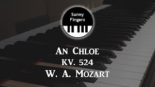An Chloe - W. A. Mozart KV 524 (piano accompanoment / karaoke 피아노 반주)