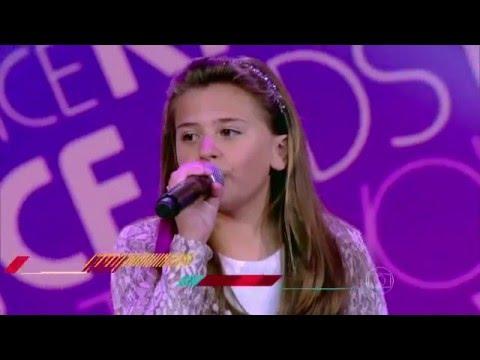 Maria Fernanda da Costa canta 'Xote das Meninas' no The Voice Kids - Audições | Temporada 1