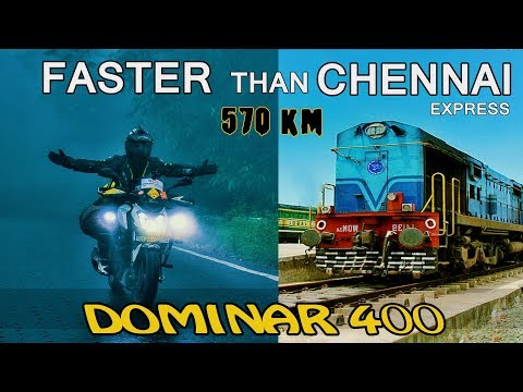 Faster Than Chennai Express Dominar 400 - Rameshwaram To Chennai