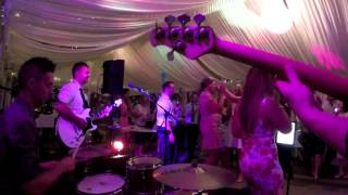 Essential Groove cover band playing Superstition - Stevie Wonder at Melbourne Wedding