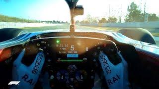 Zapętlaj Kimi Raikkonen Mode! (Visor Cam) | F1 Testing 2019 | FORMULA 1