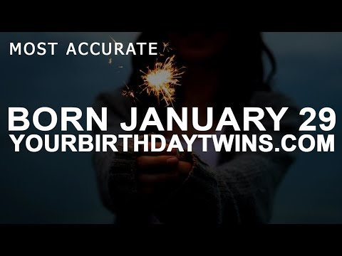 Born On January 29 | Birthday | #aboutyourbirthday | Sample