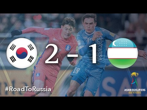 Korea Republic vs Uzbekistan (Asian Qualifiers – Road To Russia)