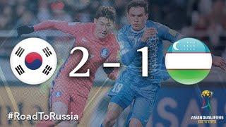 Korea Republic vs Uzbekistan (Asian Qualifiers – Road To Russia)
