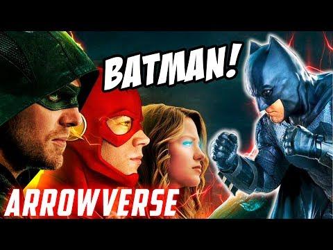 BATMAN y GOTHAM en el ARROWVERSE CONFIRMADA SU EXISTENCIA! - OLIVER QUEEN CONOCE A BRUCE WAYNE!