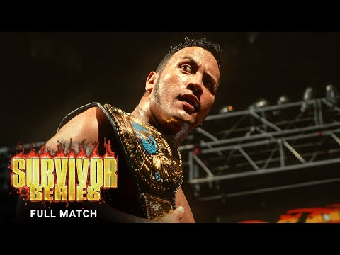 FULL MATCH - The Rock vs. Mankind - WWE Title Tournament Final: Survivor Series 1998