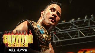 FULL MATCH - The Rock vs. Mankind - WWE Title Tournament Final: Survivor Series 1998
