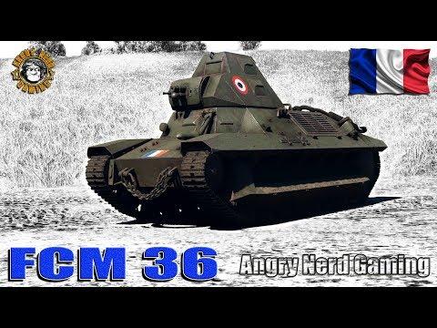 War Thunder: FCM 36, French, Tier-1, Light Tank
