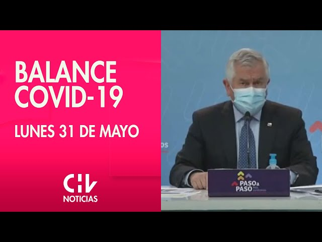 Balance COVID-19, 31 de Mayo | Minsal confirma 97% de ocupación de camas UCI