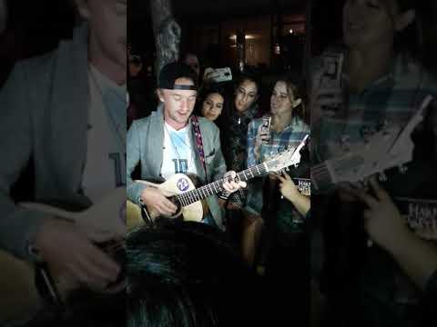 Tom Felton en Argentina. 10/12/17