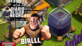 DIÁRIO do ELIXIR NEGRO #35 - É HORA DO FARM!! BIRRLLLL - CLASH OF CLANS
