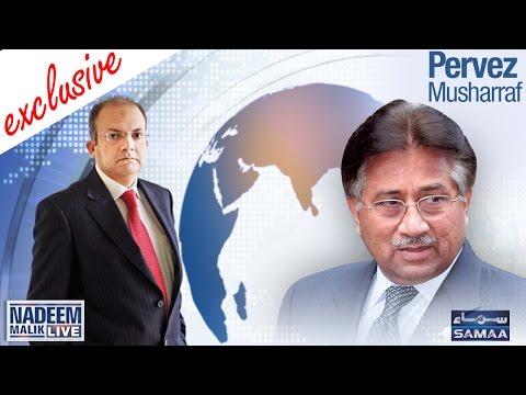 Pervez Musharraf Exclusive | Nadeem Malik Live | 20 Sept 2016