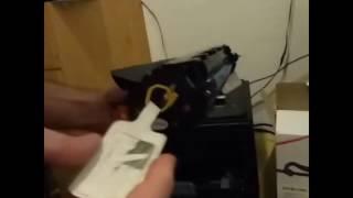 Como cambiar el toner a una Samsung ML1640