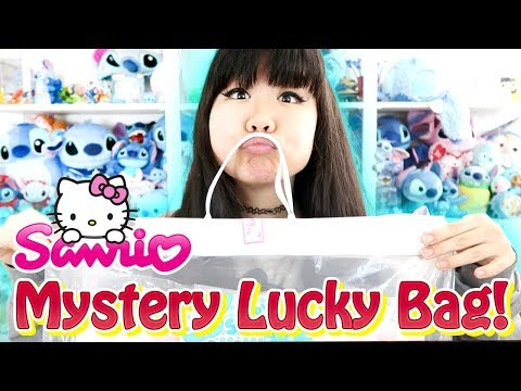 Sanrio Lucky Bag - It was Totally Worth It! - Hello Kitty, Pom Pom Purin and MORE!