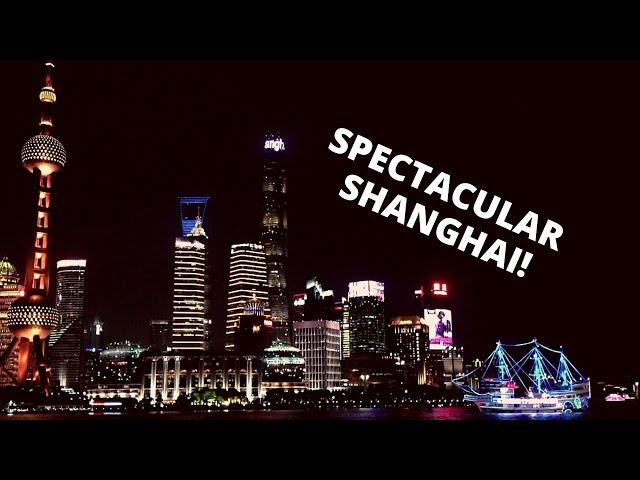SAUNTERING AROUND SHANGHAI, CHINA: Huangpu River, Bund Sightseeing Tunnel, Pudong and more!