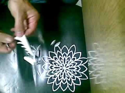Learn chinese paper flower making for home decoration for Flower making at home