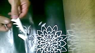 Learn Chinese Paper Flower Making for Home Decoration