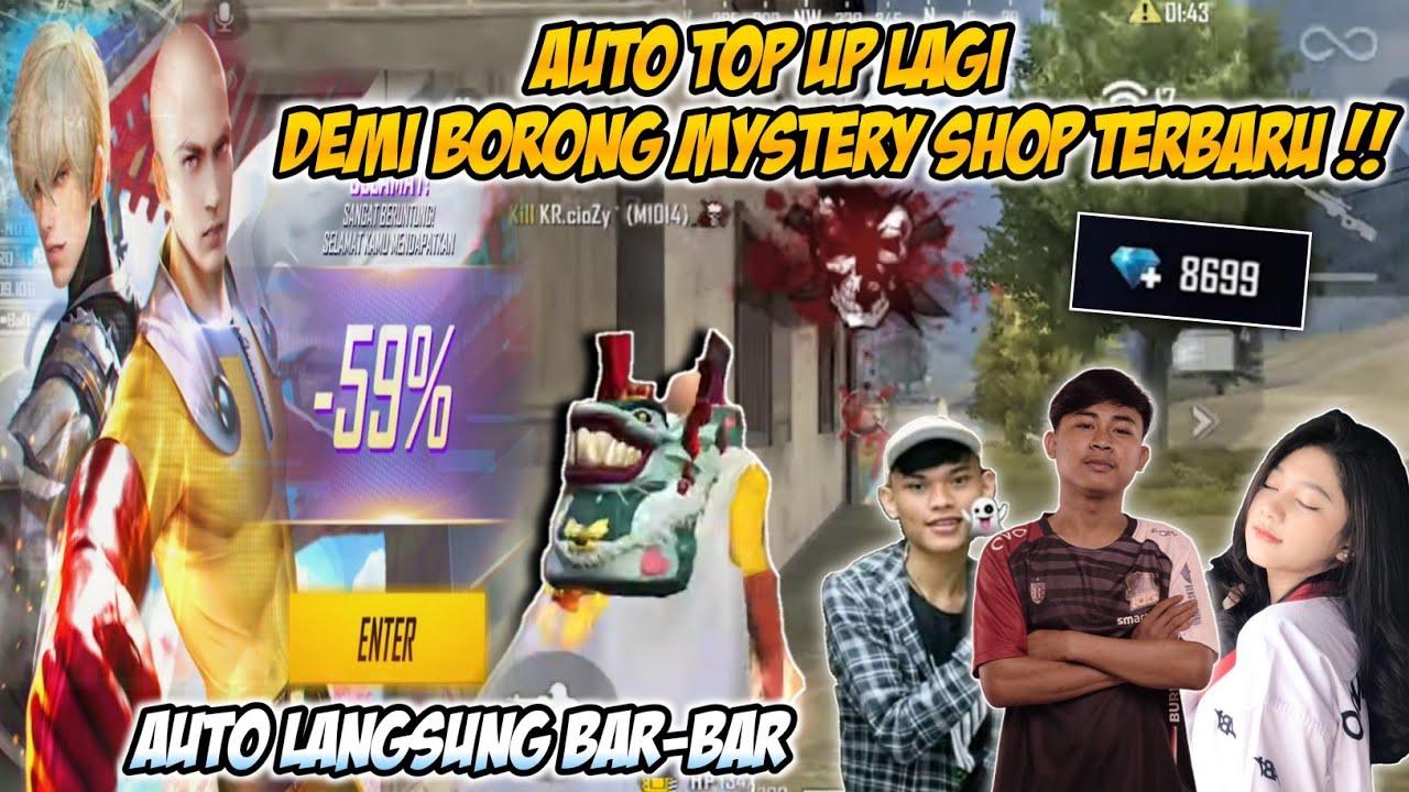 TOP UP 1 JUTA LAGI DEMI BORONG MYSTERY SHOP TERBARU ONE PUNCH MAN !!