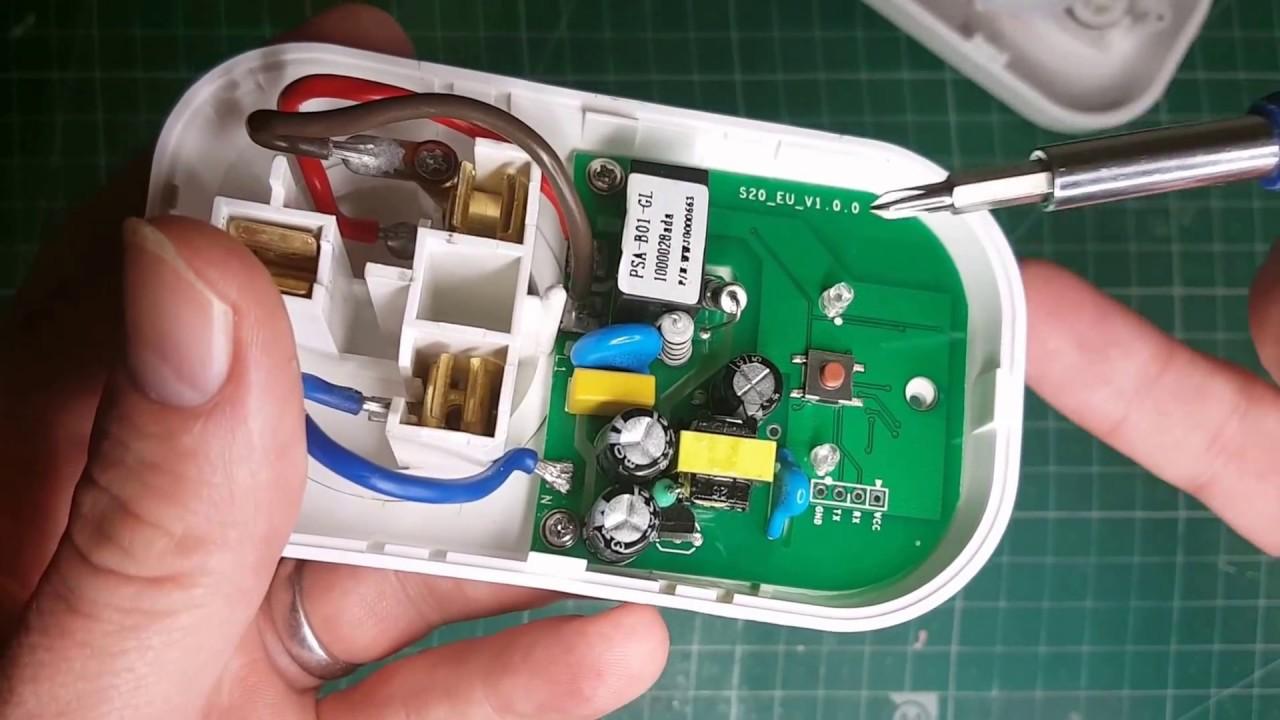 Hack: SONOFF S20 plug to make it a super intelligent plug