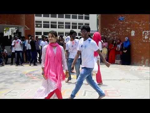 Pabna Textile Engineering College ৷৷ 9th Batch 2nd Batch Day 2K17 ৷৷ Flash Mob