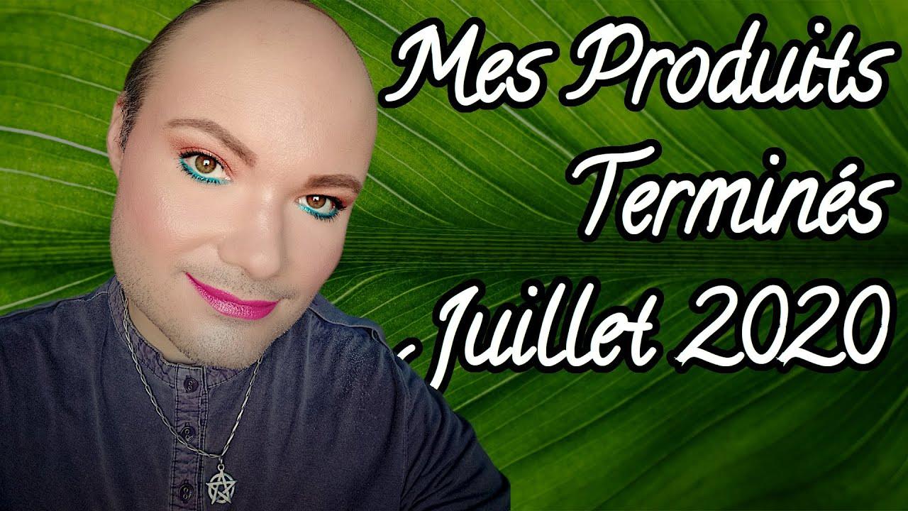 MES PRODUITS TERMINÉS - JUILLET 2020