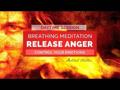 Release Anger - Deep Breathing Meditation to Control Anger