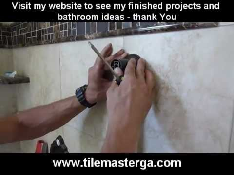 Part.4  Shower Diverter, Transfer valve trims and fixtures installation step by step - Moen, Delta