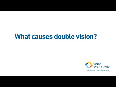 What Causes Double Vision?