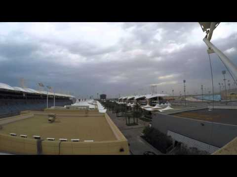 Weather Time-lapse overlooking Bahrain International Circuit