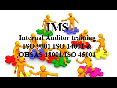 iso 14001 and ohsas 18001 auditor training