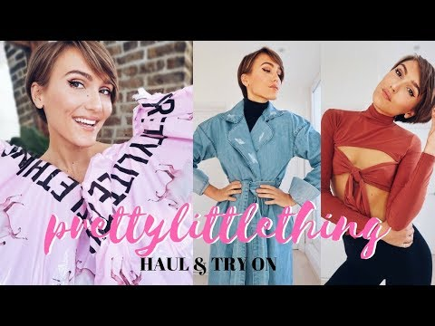 PRETTY LITTLE THING HAUL & TRY ON - I SPENT £300 :O  | Blaise Dyer