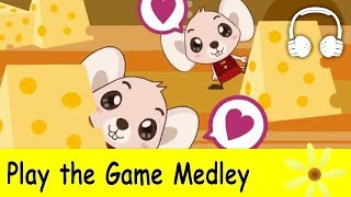 Play the Game Medley | Nursery Rhymes Collection - Muffin Songs
