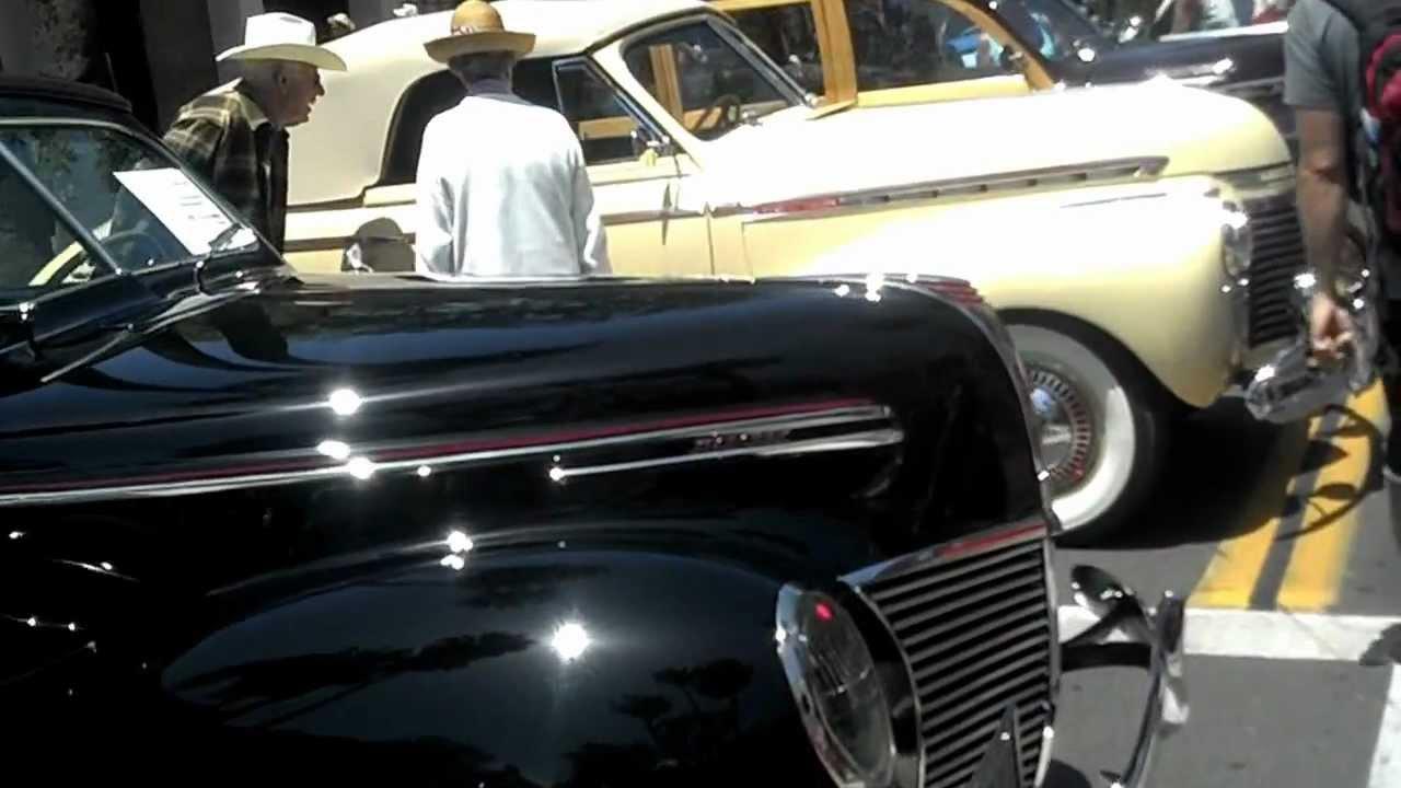 State Street Santa Barbara Car Show