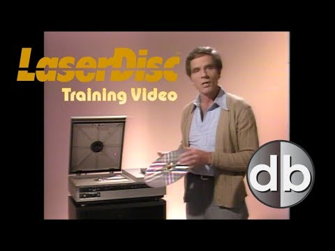 """Laservision Laserdisc Training Video """"On a Silver Platter"""""""