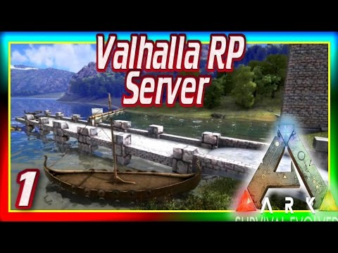 """ARK: Valhalla #1- """"The Skylord!"""" (Modded ARK Survival Evolved Roleplay Server) w/ Xylophoney"""