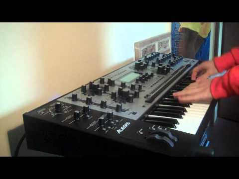 Ryan Leslie Addiction Real Synth Alesis Andromeda