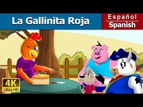La Gallinita Roja | Cuentos para dormir | Cuentos Infantiles | Cuentos De Hadas Españoles