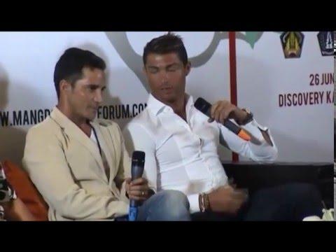 Cristiano Ronaldo In Bali Youtube