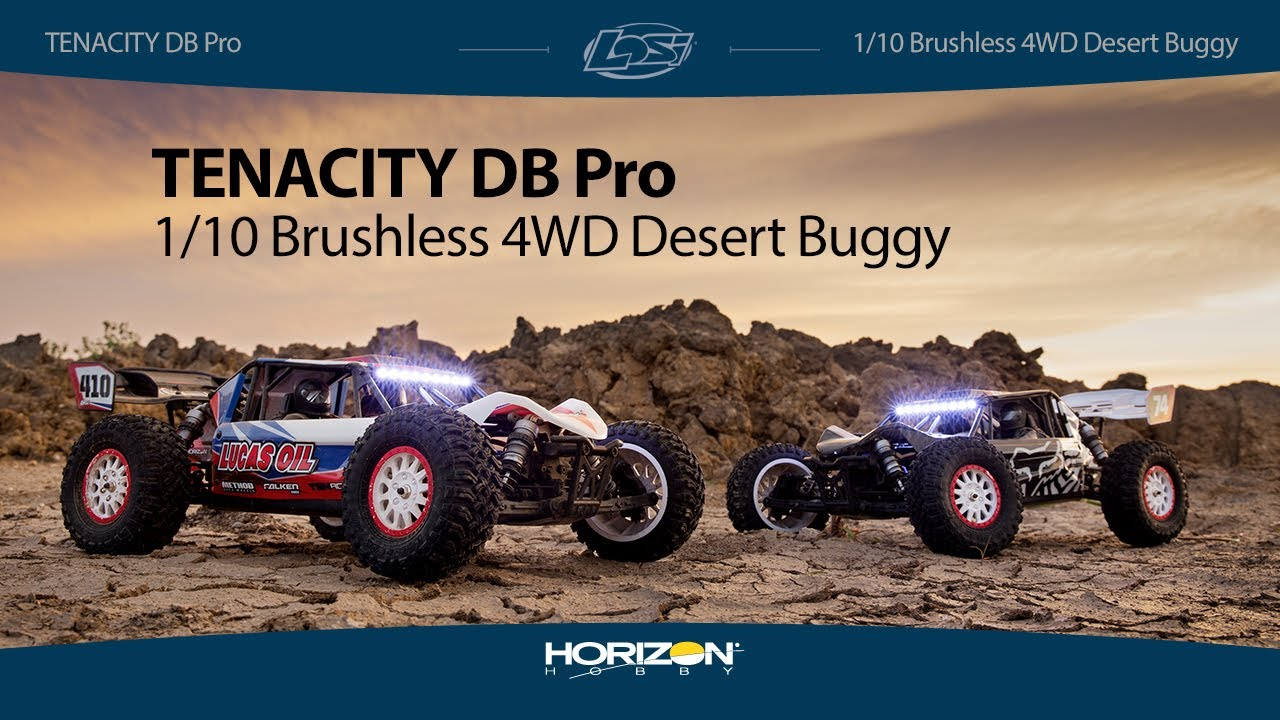 Losi 1/10 Tenacity DB Pro 4WD Desert Buggy Brushless RTR with Smart