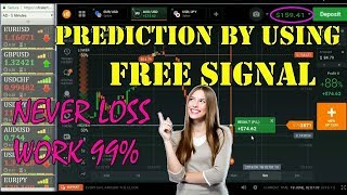 Best iq Option Strategy 2018 - 99% Wining | prediction by using Free Signal in Binary Option