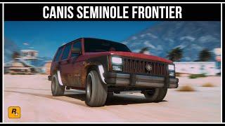 GTA 5 ONLINE: CANIS SEMINOLE FRONTIER - ОБЗОР И ТЕСТЫ В 4K
