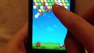 無料通話・メールアプリのLINE。公式ゲーム「LINEバブル」の記録更新に...