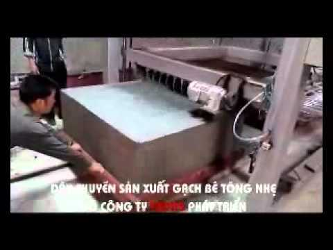Quy trình sản xuất gạch bê tông nhẹ của Cty TADITS.mp4