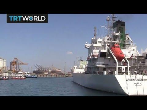 Turkey sends 4,000-ton food shipment to Qatar