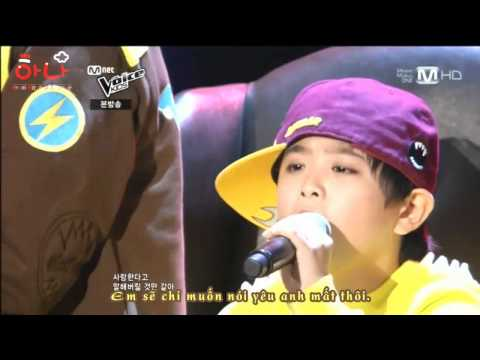 [Vietsub][Voice Kids - Battle Round] Eunwoo, Sagang & Jihyun - Be my baby (Wonder girls)