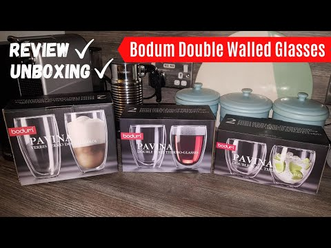 Bodum Double Wall Glass Review – Better than Nespresso Cups and Mugs? | Double Walled Coffee Glasses