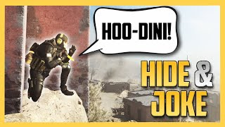 Hide and Joke Seek - Hoo-Dini.