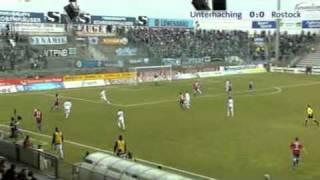 SpVgg Unterhaching - Hansa Rostock 3:0