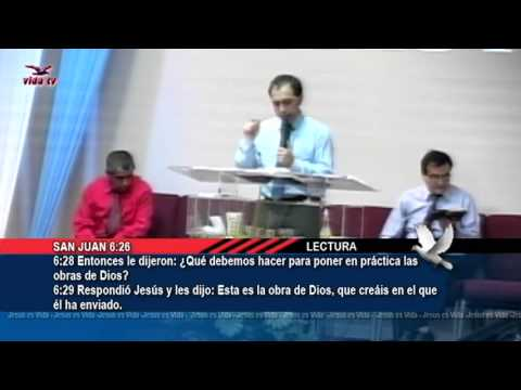 Mensaje Jesus el Pan de Vida  Pastor Rafael Dasilva  07282013