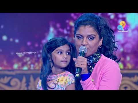 Malare Mounama song by Ameya & Jesna Justine - Malayali Veettamma  മലയാളി വീട്ടമ്മ Flowers  Ep# 47
